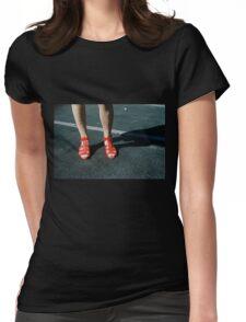 Pink Femininity 3 Womens Fitted T-Shirt