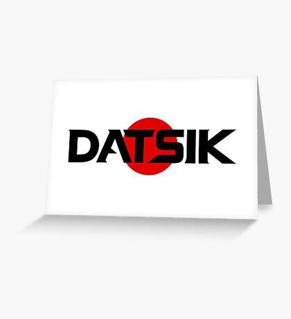Datsik Greeting Card