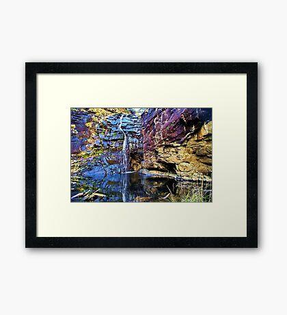 Sheoak Falls Framed Print