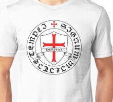 Knights Templar 12th Century Seal - Holy Grail - templars - crusades Unisex T-Shirt