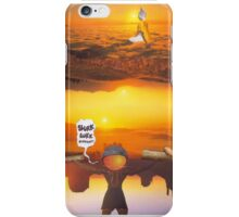 M Blackwell - Layerland 2: Saluting Four Sunrises iPhone Case/Skin