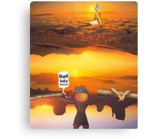 M Blackwell - Layerland 2: Saluting Four Sunrises Canvas Print