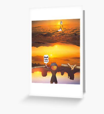 M Blackwell - Layerland 2: Saluting Four Sunrises Greeting Card