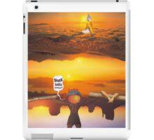 M Blackwell - Layerland 2: Saluting Four Sunrises iPad Case/Skin
