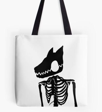 Nuclear Jackal (Design 1 Version 2) Tote Bag