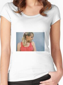 Pink Femininity 4 Women's Fitted Scoop T-Shirt