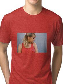Pink Femininity 4 Tri-blend T-Shirt