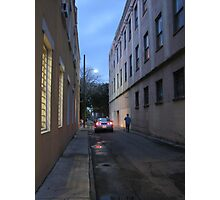 Down a side street Photographic Print