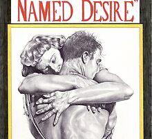 A STREETCAR NAMED DESIRE hand drawn movie poster in pencil by theexiledelite