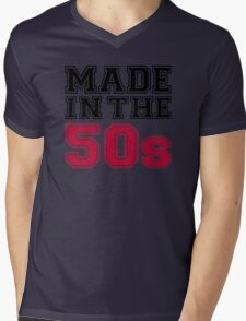 Made in the 50s Mens V-Neck T-Shirt
