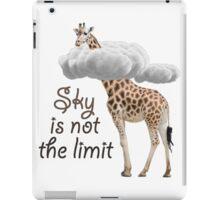 No limits iPad Case/Skin