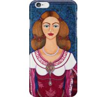 Ines de Castro - The love crowned iPhone Case/Skin