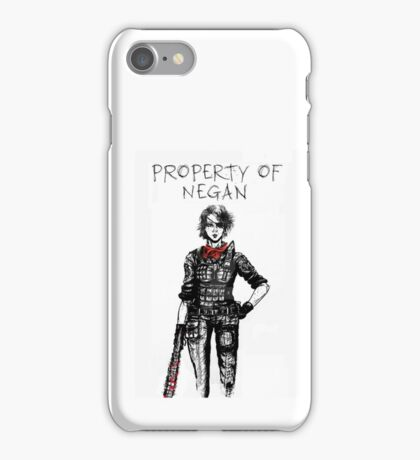 The Walking Dead Negan Lucille iPhone Case/Skin