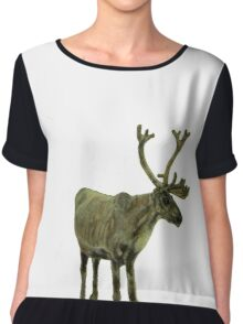 Reindeers Aren't Just for Christmas Chiffon Top