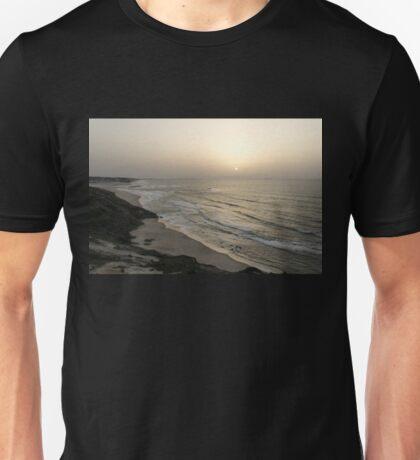 Pale Lemon Yellow Sunset - Unisex T-Shirt