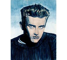 Jimmy Dean: Blue Photographic Print