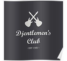 Djentlemen's Club Poster