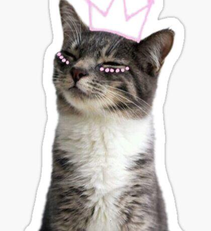 princess kitty Sticker