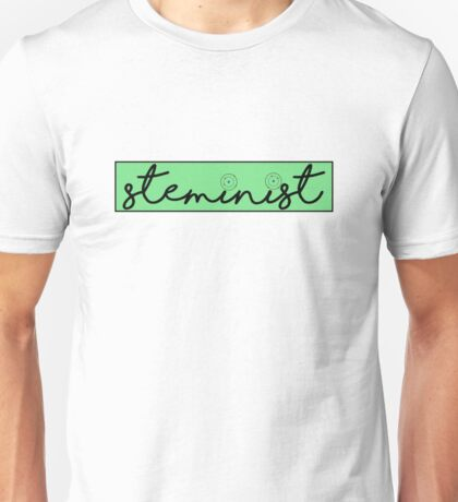 Steminist, Feminists in STEM Unisex T-Shirt