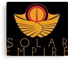 The Solar Empire Crest Canvas Print