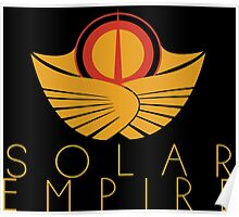 The Solar Empire Crest Poster
