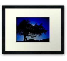 The 25 Year Visit Framed Print