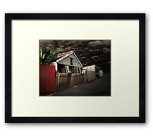 Sometimes You Have To Stand Alone Framed Print