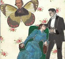 Poe Butterfly(please read description of this work) by RobynLee