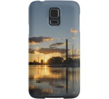 Fire in the Sky - Skyscrapers and the Beaches Marina Samsung Galaxy Case/Skin