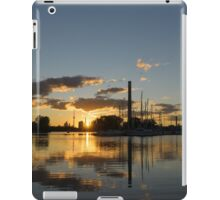 Fire in the Sky - Skyscrapers and the Beaches Marina iPad Case/Skin