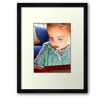 Once upon a time.... Framed Print