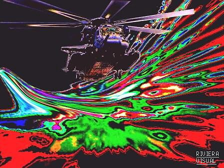 Fe-Cyber Warrior Gunship by RIVIERAVISUAL