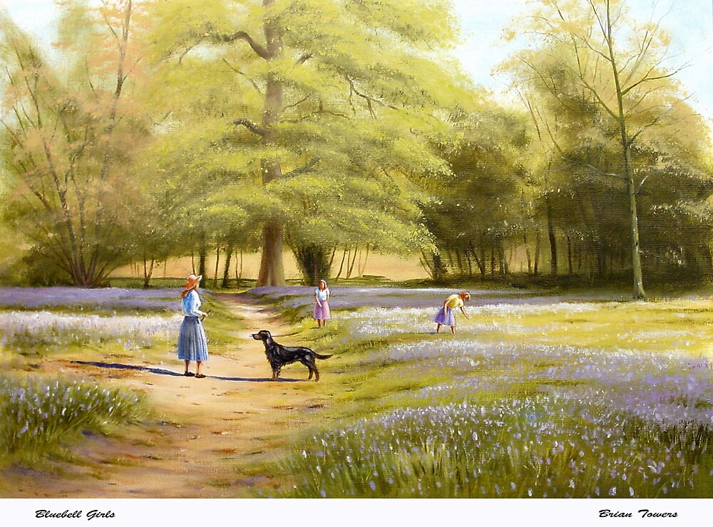 Bluebell Girls by Brian Towers