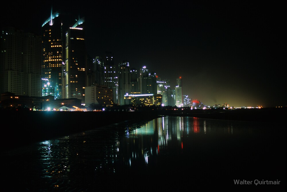 Dubai Nights by Walter Quirtmair