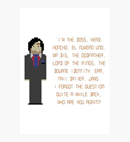 The IT Crowd – I'm The Boss Photographic Print