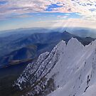 Moonlight Ridge Panorama, Mount Buller by Craig Mitchell