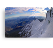 Moonlight Ridge Panorama, Mount Buller Canvas Print