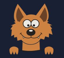 Funny cute Freaky Fox Kids Clothes