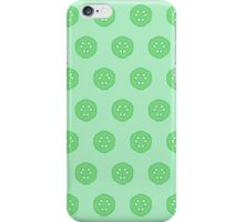 Green Cucumber Slices iPhone Case/Skin