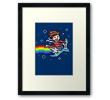 Nyanyanyanyanya Nyan Lloyd! Framed Print