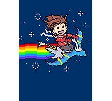 Nyanyanyanyanya Nyan Lloyd! Photographic Print