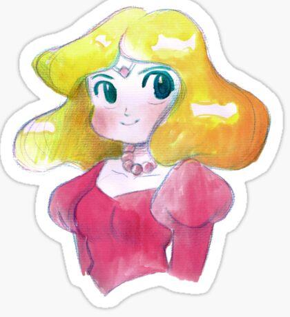 Retro Princess Zelda Sticker