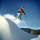 A Jump in the Backcountry by Craig Mitchell