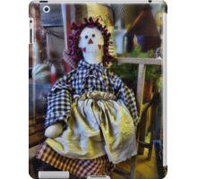 Miss Raggedy Ann iPad Case/Skin