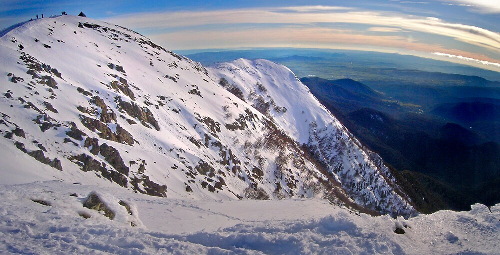 Frenchmans Panorama, Mt Buller by Craig Mitchell