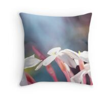 Abstract Jasmine I Throw Pillow