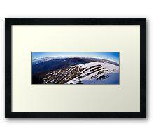 Buller Panorama Framed Print