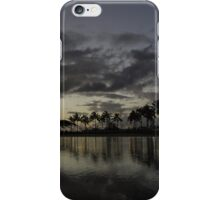 Hawaiian Twilight - Dreaming of Long Tropical Evenings iPhone Case/Skin