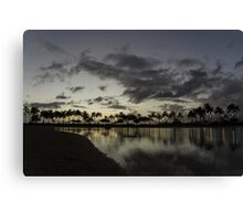 Hawaiian Twilight - Dreaming of Long Tropical Evenings Canvas Print