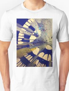 Spin Art Paint and Glitter Abstract T-Shirt